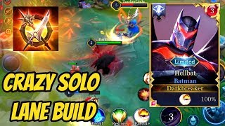 BATMAN SOLO LANE BUILD - NEW SKIN HELLBAT 😲 | AoV | 傳說對決 | RoV | Liên Quân Mobile | 펜타스톰