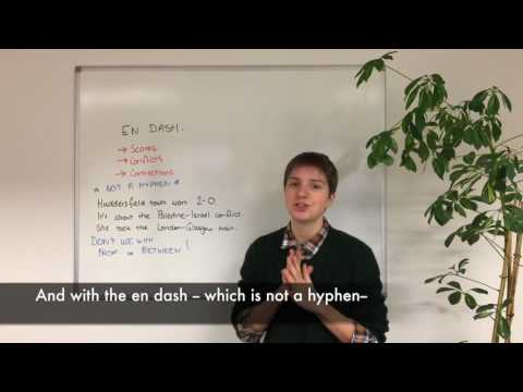 Grammar : En and Em Dash - Curated's Tuesday Tips