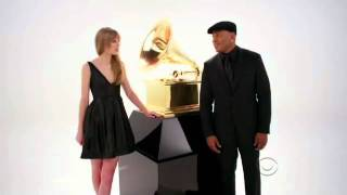 LL Cool J & Taylor Swift Grammy Awards promo (2) WITH CAPTIONS