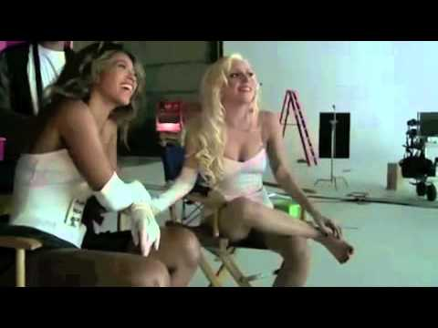 Lady Gaga Ft Beyonce - Telephone Backstage video