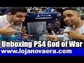 Unboxing do PS4 PRO Personalizado do novo God of War - Loja Nova Era