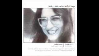 Sarracini - Maria Farantouri