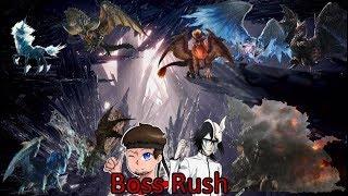Boss Rush: All Arch Tempered Monsters! (Monster Hunter World Stream)