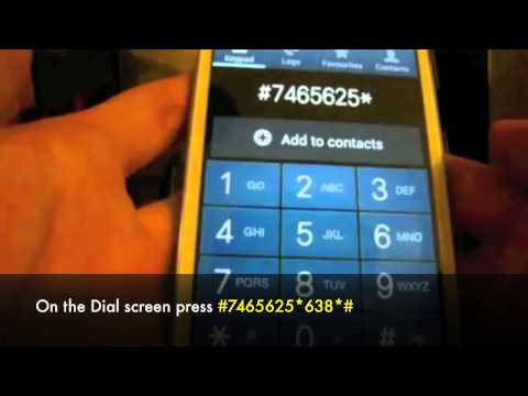 How to Unlock Samsung Galaxy S3 III SGH i747 SGH T999 GT i9300 by Sim Unlock Code At&t. T Mobile