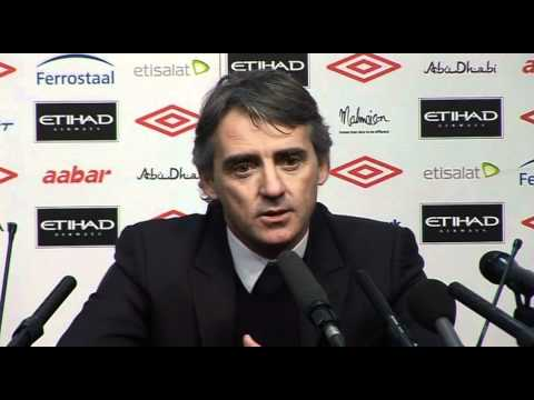 Mancini delighted with City FA cup progress