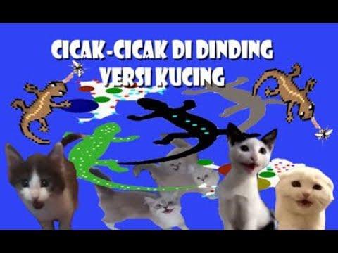 Cicak-Cicak Di Dinding - Versi Kucing (Animal Cover)