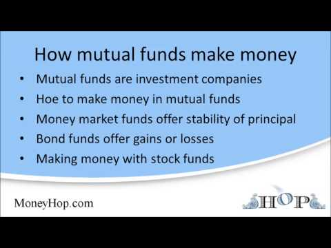 How mutual funds make money
