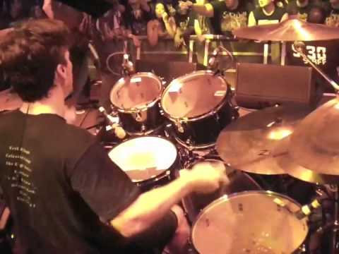 Kevin Talley drumming Hammer Smashed Face - Six Feet Under