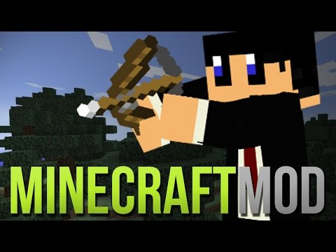 CAMERA op je PIJLEN ?! Arrowcam! Minecraft Mod Review!