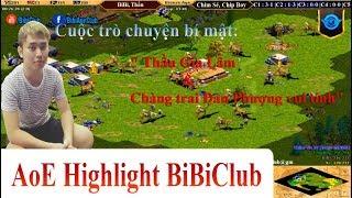 AoE Highlight BiBiClub || Cuộc Trò Chuyện Bí Mật Của Thầu Gia Lâm và Chàng Trai Đan Phượng Vui Tính