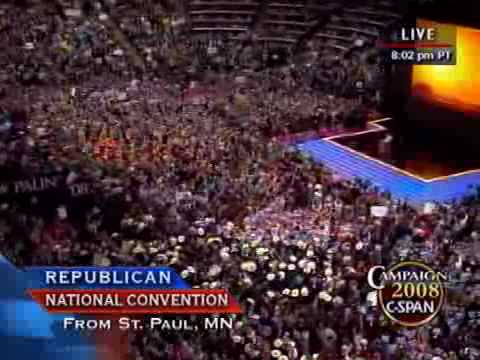 C-SPAN: Vice Presidential Candidate Gov. Sarah Palin (AK) Full Speech at the RNC