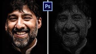 Cara membuat efek teks di wajah - PHOTOSHOP TUTORIAL