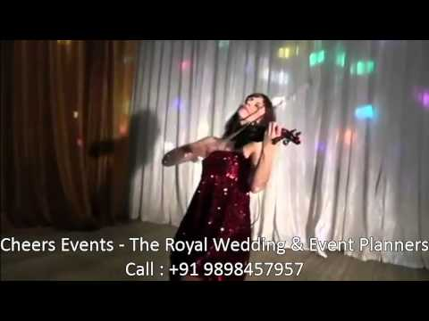 International Violin Player Female Wedding Corporate Bollywood Songs Indian Entertainment