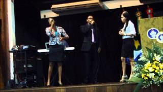 Quão Grande é o meu Deus. Grupo Nova Voz: Thulio, Thaise e Mariana