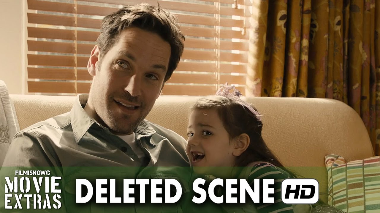 Ant-Man (2015) Blu-ray-DVD Deleted Scene #2 - Scott and Cassie on Couch