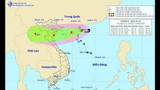 TIN NÓNG : Bão số 4 gió giật cấp 11, tăng tốc hướng vào Quảng Ninh – Nghệ An