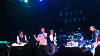 St. Bagu Live at the House of Blues 12-04-10