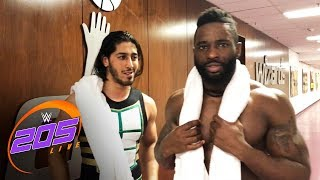 Cedric Alexander and Mustafa Ali react to their thrilling battle: Exclusive, Jan. 23, 2018