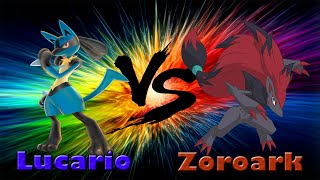 LUCARIO VS ZOROARK RAP | CarRaxX ft. Karimero Power
