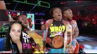 WWE Raw 10/3/16 New Day JeriKO Roast