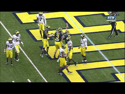 Back to Back Michigan Touchdowns