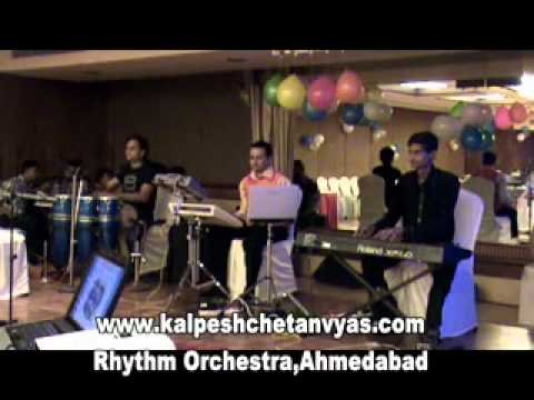 E Dil He Mushkil Instrumental At Hotel Pride Banquet By Rhythm Orchestra Of Kalpesh Vyas Chetan Vyas video