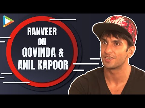 Ranveer Singh's Exclusive On Anil Kapoor Govinda Upcoming Films video