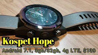 Kospet Hope - Android 7.1, 3gb RAM, 32gb ROM, 4G LTE, only $139