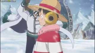 Luffy VS Smoker and Tashigi