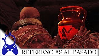 God of War 2018  | Todas las Referencias al pasado de Kratos