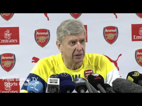 Arsene Wenger pre Tottenham vs Arsenal