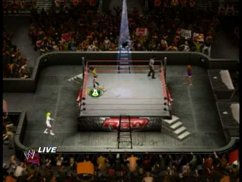 Smackdown Vs Raw 2010 DIVA CAW MITB MATCH 1/2