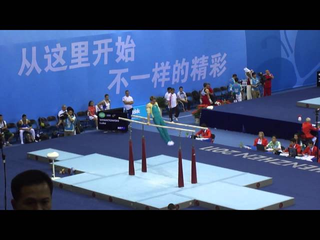 Luke Wiwatowski parallel bars Shenzhen 2011