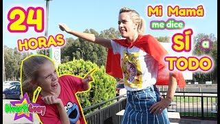 24 HORAS MI MADRE ME DICE SI A TODO!! MI MAMÁ PASA UN DÍA ENTERO DICIENDOME SI A TODO!! DIVERTIGUAY