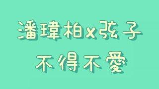 潘瑋柏x弦子 - 不得不愛【歌詞】