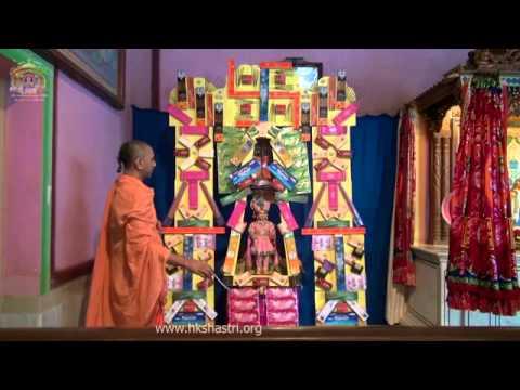 Hindola Festival Sugandh Salaka 16 Jul 2014 Swaminarayan Mandir Hindola video