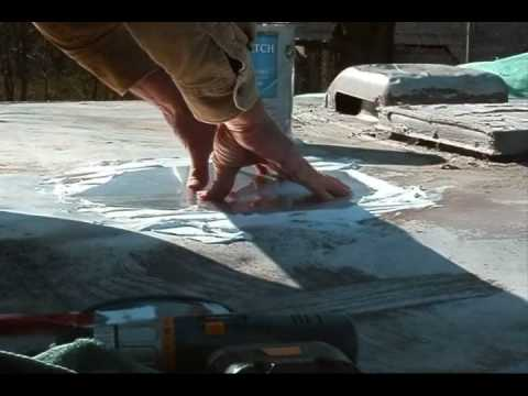 "RV Roof Repair 101 ""How to"" Fix a Leak"