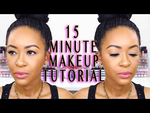 Go-To Everyday Makeup Tutorial for Work/School in Under 15 Minutes || FashionablyFayy