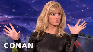 Brooklyn Decker On Getting Scared By Peter Berg