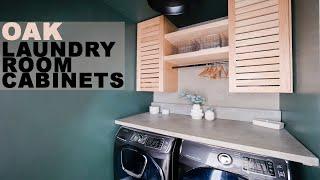 DIY Shutter Style Cabinets