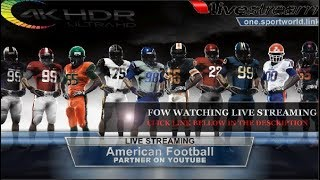 Albany vs. Washington Valor |American Football -July, 22 (2018) Live Stream