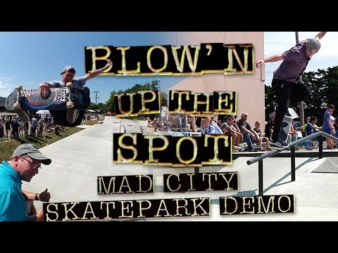 Blow'n Up the Spot: Madcity Skatepark Demo   Total Eclipse Tour   Independent Trucks