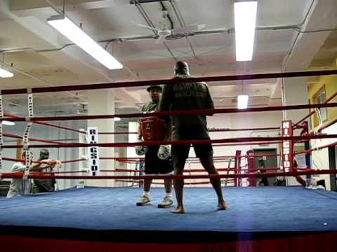 Quinton Rampage Jackson training at Fighthouse 3 Image 1
