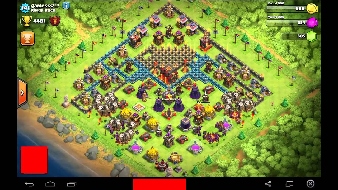 Best town hall 10 trophy base clash of clans th 10 trophy base