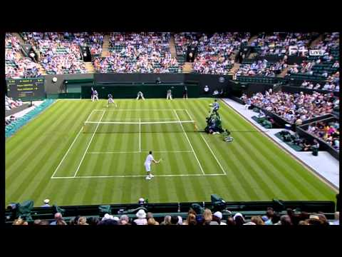 Grigor Dimitrov vs Ryan Harrison Wimbledon 2014 Round 1 Part 1