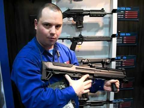 Kel-Tec New KSG 15-shot Pump Action Bullpup Shotgun