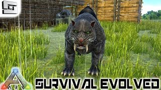 ARK: Survival Evolved - SABERTOOTH! E11 ( Gameplay )