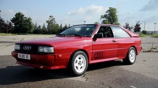 1985 Audi Ur-Quattro - WR TV Sights & Sounds