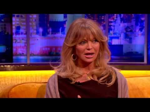 Goldie Hawn On Kate Hudson's Birth Story - The Jonathan Ross Show