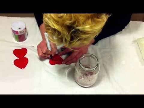 DIY Valentine globe!!